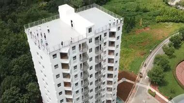 काय सांगता? फक्त 28 तासांमध्ये उभी केली 10 मजली इमारत; China च्या कंपनीची कमाल (Watch Video)