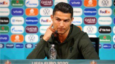 Cristiano Ronaldo याच्या 'त्या' कृतीमुळे Coca Cola कंपनीला 4 अब्ज डॉलर्सचा जबर फटका, Euro 2020 स्पर्धेतील व्हिडिओ सोशल मीडियात व्हायरल