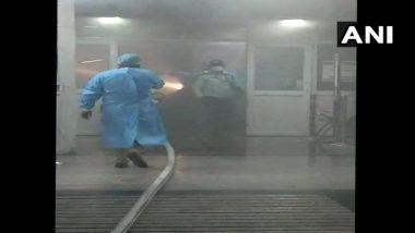 दिल्लीतील AIIMS रुग्णालयातील अतिदक्षता विभागात आग, कोणहीती जीवितहानी झाली नसल्याची माहिती