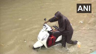 Mumbai Rains: मुसळधार पावसामुळे मुंबईतील परळ भागात रस्ते पाण्याखाली