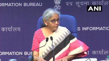 Loan Guarantee Scheme: COVID-19 प्रभावीत क्षेत्रांसाठी 1.1 लाख कोटी रुपायंची कर्ज हमी योजना, केंद्री अर्थमंत्री Nirmala Sitharaman यांची घोषणा