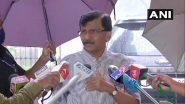 Shiv Sena on BJP: 'कालच्या शिवप्रसादावरच थांबा, शिवभोजन थाळी देण्याची वेळ आणू नका' संजय राऊत यांचा गर्भित इशारा