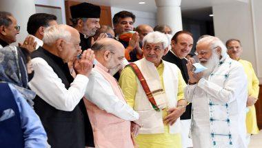 Jammu and Kashmir: पंतप्रधान नरेंद्र मोदी यांची जम्मू-कश्मीरमधील नेत्यांसबत दिल्लीत बैठक