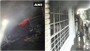 Fire Breaks Out Delhi:  दिल्ली येथील मदिपूर परिसरात इमारतीला भीषण आग; अग्निशमन दलाचे 24 फायर टेंडर घटनास्थळी दाखल