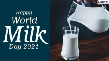 World Milk Day 2021 HD Images: जागतिक दूध दिनानिमित्त  WhatsApp Messages, Facebook Quotes , Wallpapers शेअर करुन द्या आप्तेस्टांना शुभेच्छा