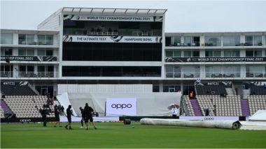 IND vs NZ WTC Final 2021 Day 5: भारत-न्यूझीलंड पाचव्या दिवसाच्या पहिल्या सत्राच्या सुरुवातीला पावसाचा अडथळा