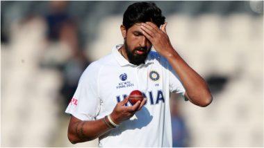 IND vs ENG Series 2021: इंग्लंडविरुद्ध कसोटी मालिकेपूर्वी टीम इंडियाला जोर की झटका, Ishant Sharma याच्या बोटाला घातले टाके