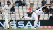 IND vs NZ WTC Final 2021: इशांत-शमीची भेदक गोलंदाजी; लंचपर्यंत न्यूझीलंडचा 135 धावांवर अर्धा संघ तंबूत, Kane Williamson याची संयमी बॅटिंग