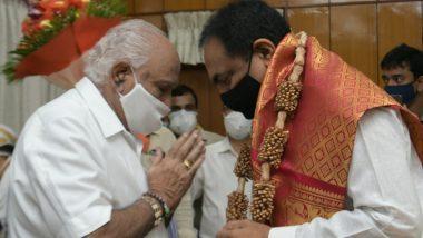Sangli, Kolhapur Flood Crisis: जयंत पाटील कर्नाटकचे मुख्यमंत्री बी एस येडीयुरप्पा यांच्या भेटीस;  Almatti Dam पाण्यासह, सांगली कोल्हापूर महापूरावर चर्चा