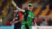 Kevin O'Brien Retirement: आयर्लंडचा 37 वर्षीय स्टार फलंदाजाने ODI क्रिकेटला ठोकला रामराम