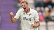 IND vs NZ WTC Final 2021: न्यूझीलंडच्या Kyle Jamieson याचा टीम इंडियाला दुहेरी धक्का, विराट पाठोपाठ Rishabh Pant देखील आऊट