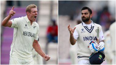 IND vs NZ WTC Final 2021: काईल जेमीसनचा टीम इंडियाला दुहेरी दणका, विराट पाठोपाठ चेतेश्वर पुजाराला धाडलं माघारी