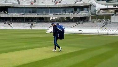 ENG vs NZ 1st Test: लॉर्ड्स स्टेडियमची खेळपट्टी पाहून Wasim Jaffer यांना आठवला हारा भारा कबाब, पहा Photo