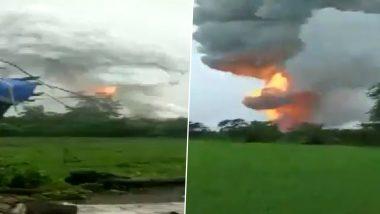 Palghar Fire: डहाणू मध्ये फटाके बनवणार्या कंपनीमध्ये स्फोट; 5 जण गंभीर जखमी