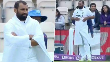 IND vs NZ WTC Final 2021: मोहम्मद शमीने या कारणामुळे मैदानावर गुंडाळला टॉवेल, व्हिडिओ पाहून हसून-हसून व्हाल लोटपोट