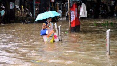 Mumbai Rains Update: मुंबईतील विविध ठिकाणी मुसळधार पावसामुळे साचले पाणी, पहा व्हिडिओ