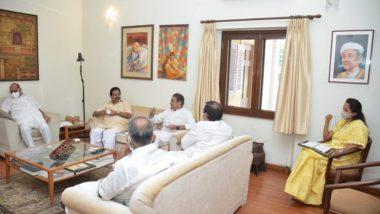 नवी दिल्ली:  राष्ट्रवादी काँग्रेसच्या राष्ट्रीय कार्यकारिणी समितीची बैठक पूर्ण, पक्षाच्या आगामी ध्येयधोरणांबद्दल विस्तृत झाली चर्चा