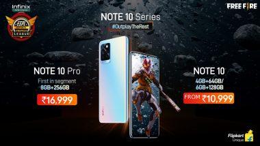 Infinix Note 10 सीरिज भारतात झाली लाँच, जाणून याची खास वैशिष्ट्ये आणि किंमतीविषयी