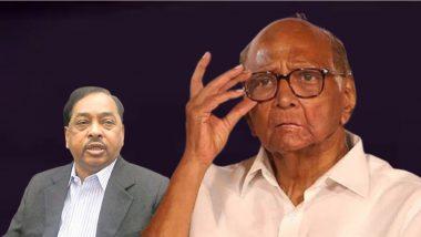 Narayan Rane on Sharad Pawar: शरद पवार कधीही शिवसेनेबरोबर निवडणूक लढवणार नाहीत, त्यांनी फक्त काँग्रेसला धमकी दिली- नारायण राणे