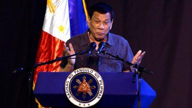 Philippines: 'कोरोना विरोधी लस घ्यायची नसेल तर भारतामध्ये जा'; अध्यक्ष Rodrigo Duterte यांचे वादग्रस्त विधान
