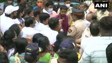 Shiv Sena Bhavan: माहिम पोलिसांकडून 7 शिवसेनेचे नेते/कार्यकर्त्यांवर FIR दाखल, शिवसेना भवनाजवळ झालेल्या राड्यानंतर पोलिसांकडून कारवाई