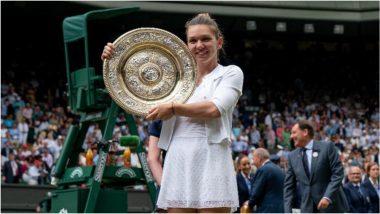 Wimbledon 2021: गतविजेत्या Simona Halep हिची दुखापतीमुळे चॅम्पियनशिप मधून माघार