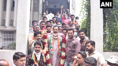 Sunil Deshmukh Quit BJP: सुनील देशमुख यांनी भाजप सोडला, काँग्रेस पक्षात प्रवेश