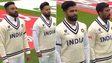 IND vs NZ WTC Final 2021: साउथॅम्प्टन येथून टीम इंडियाने Milkha Singh यांना वाहिली श्रद्धांजली,ब्लॅक बँड घालून'विराटसेना' मैदानात,पाहाPhotos