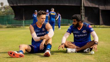 ICC World Test Championship: ट्रेंट बोल्टने WTC फायनल सामन्यात मुंबई इंडियन्सच्या सहखेळाडूंविरुद्ध खेळण्यावर दिली मोठी प्रतिक्रिया (Watch Video)