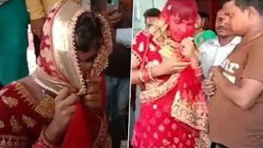 गर्लफ्रेंड च्या लग्नात साडी नेसून, मेकअप करुन 'तो' पोहचला खरा पण, नातेवाईकांनी ओळखलचं त्या नंतर काय घडले ते तुम्हीच पाहा (Watch Viral Video)