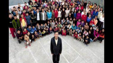 जगातील सर्वात मोठ्या कुटुंबाचे प्रमुख Ziona Chana यांचे वयाच्या 76 व्या वर्षी निधन