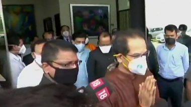 CM Uddhav Thackeray दिल्लीत दाखल; थोड्याच वेळात घेणार पंतप्रधान नरेंद्र मोदींची भेट