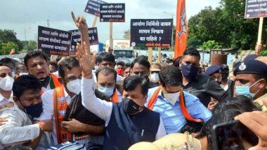 OBC चे राजकीय आरक्षण टिकवण्याच्या मागणीसाठी भाजपचं महाराष्ट्र भर चक्काजाम आंदोलन सुरू