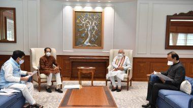 CM Uddhav Thackeray-PM Narendra Modi Meet: दिल्लीत पंतप्रधानांच्या निवासस्थानी महाराष्ट्र सरकारचं मुख्यमंत्री उद्धव ठाकरेंच्या नेतृत्त्वाखालील शिष्टमंडळ भेटीला; मागील दीड तासांपासून चर्चा