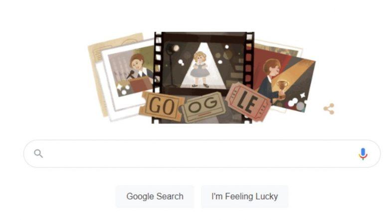 Shirley Temple Google Doodle: अमेरिकन गायक, डांसर शिरलेय टेम्प्ल यांना मानवंदना देण्यासाठी गूगलचं खास डूडल
