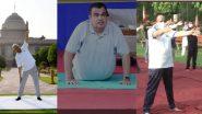 Yoga Day 2021: केंद्रीय आरोग्यमंत्री Dr Harsh Vardhan,राष्ट्रपती Ramnath Kovind ते Nitin Gadkari यांनी आज योगाभ्यास करत  दिल्या नागरिकांना योग दिनाच्या शुभेच्छा