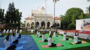 International Yoga Day 2021:  20 जणांच्या छोट्या योगप्रेमी गटाने ऐतिहासिक आगा खान पॅलेस आणि कान्हेरी लेण्यांमध्ये साजरा केला  7 वा आंतरराष्ट्रीय योग दिन