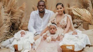 Usain Bolt Welcomes Twin Sons:उसेन बोल्ट बनला जुळ्या मुलांचा बाप, फादर्स डेच्या दिवशी मिळाली गुड न्यूज (See Post)