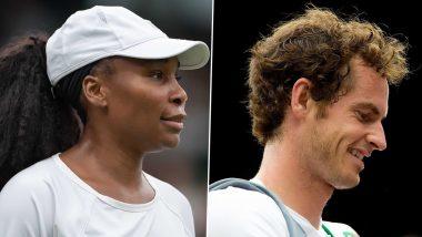 Wimbledon 2021: माजी विम्बल्डन विजेते Venus Williams आणि अँडी मरे यांना मिळणारवाइल्ड कार्ड एंट्री