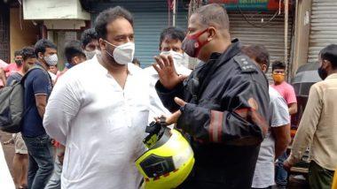 Bandra Building Wall Collapse Update:स्थानिक आमदार झीशान सिद्दीक यांनी घेतला परिस्थितीचा आढावा, ट्विटरद्वारे दिली ही माहिती