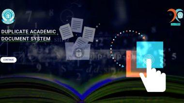 CBSE 'DADS' Portal: आता सीबीएसई च्या विद्यार्थ्यांना डुप्लीकेट मार्कशीट, माइग्रेशन सर्टिफिकेट मिळवण्यासाठी खास ऑनलाईन सुविधा; इथे पहा त्याचे दर!