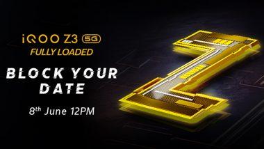 iQOO Z3 5G भारतात 8 जूनला होणार लाँच, काय असू शकतात या स्मार्टफोनची खास वैशिष्ट्ये?