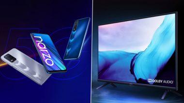 Realme Narzo 30 5G, Narzo 30, Buds Q2 आणि 32-Inch Smart TV च्या भारतातील लॉन्चिंगला सुरुवात; जाणून घ्या स्पेसिफिकेशन्स