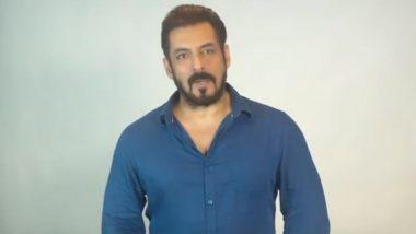 Salman Khan चे चाहत्यांना लस घेण्याचे आवाहन; म्हणाला- 'लस घेऊन समाजाच्या सुरक्षेत योगदान द्या' (Watch Video)