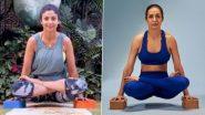 International Yoga Day 2021: शिल्पा शेट्टी, मलायका अरोरा सह 'या' बॉलिवूड अभिनेत्रींचा प्रेरणादायी योगाभ्यास; पहा Photos आणि Videos