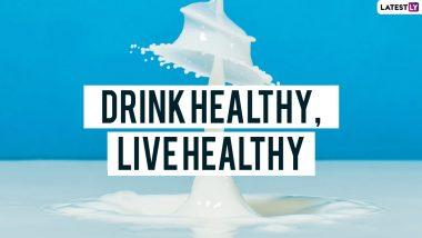 World Milk Day 2021 Slogans and Quotes: आज 1 जून ला असणाऱ्या जागतिक दुध दिनानिमित्तव्हॉट्सअॅप आणि मेसेज पाठवून जाणून घ्या महत्व