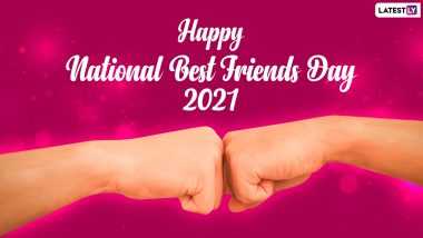 National Best Friends Day 2021: नॅशनल बेस्ट फ्रेंड्स डे निमित्त आपल्या मित्रपरिवाला Images, Wishes,Greetings Quotes on Friendship, WhatsApp Messages and HD Wallpapers पाठवून दयाशुभेच्छा