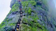सातारा येथे केंजळगडावर चढाई करण्यास गेलेल्या 10 वर्षाच्या मुलगा 200 फूट दरीत कोसळल्याने गंभीर जखमी
