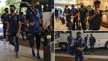 SL Vs IND: मर्यादित षटकांच्या मालिकेसाठी भारतीय संघ श्रीलंकेत दाखल