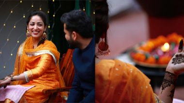 लग्नानंतर Yami Gautam ने शेअर केले मेहंदीचे Photos